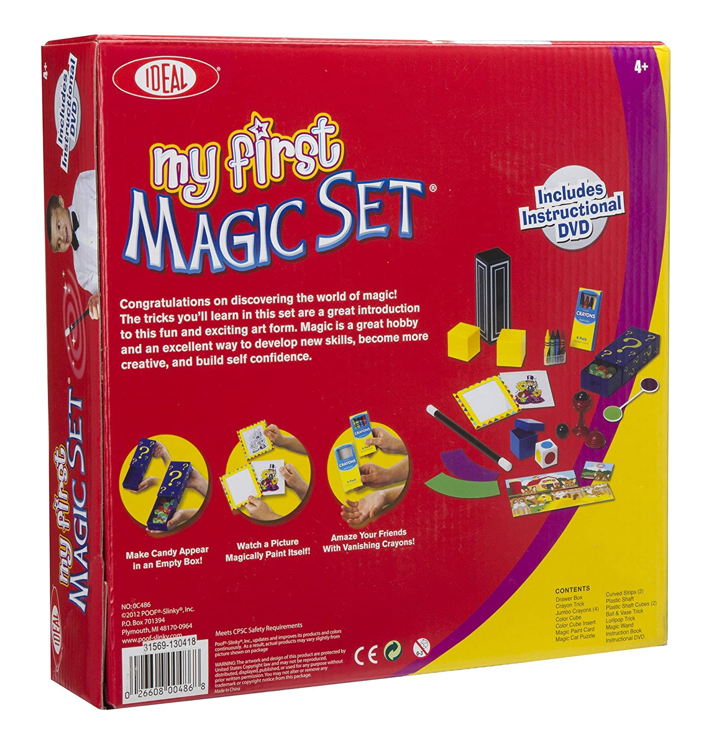 Amazon Ideal My First Magic Set Toys Games