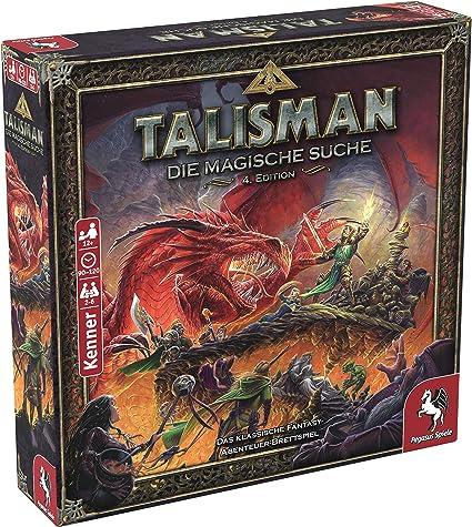 Pegasus Spiele 56200G Talisman - Juego de Mesa (Contenido en alemán) Edition: Amazon.es: Juguetes y juegos