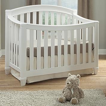 Thomasville Kids Highlands 4 In 1 Convertible Crib U2013 White