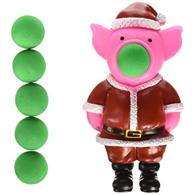 Hog Wild Holiday Pig Popper: Toys & Games