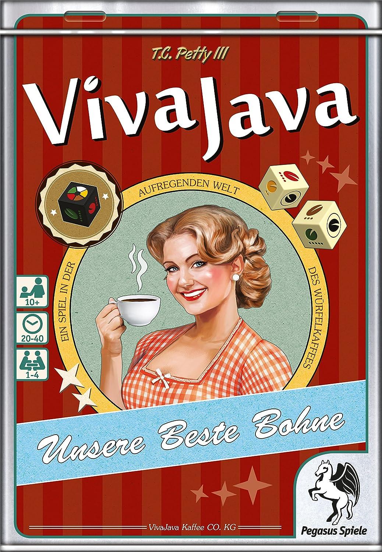 Pegasus Spiele 51216G - Viva Java, Juegos de Mesa
