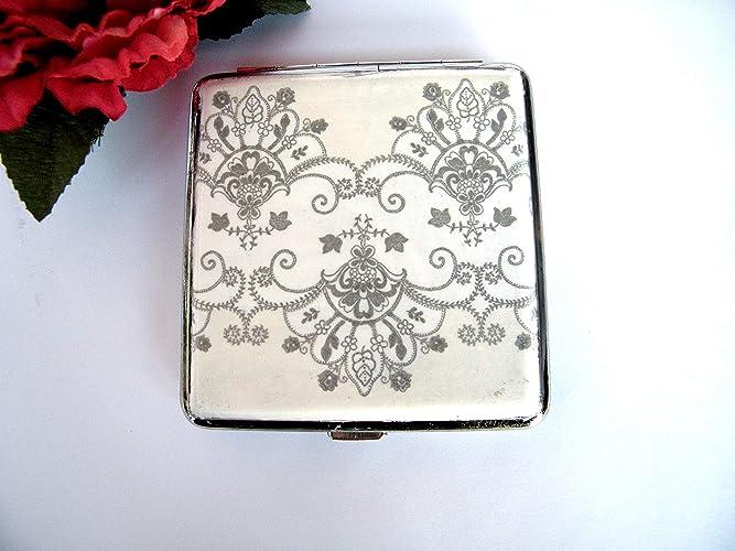 Kristan Art - Pitillera para mujer, elegante Caja para ...