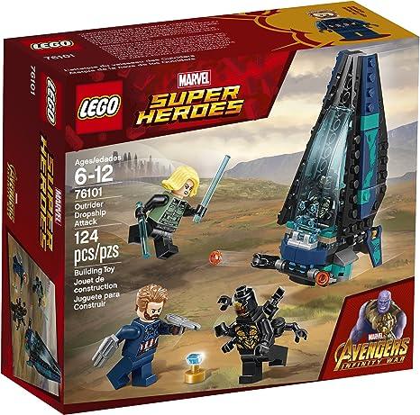 Lego® Super Heroes Minifigur Outrider 1 aus Set 76123 Neu unbespielt