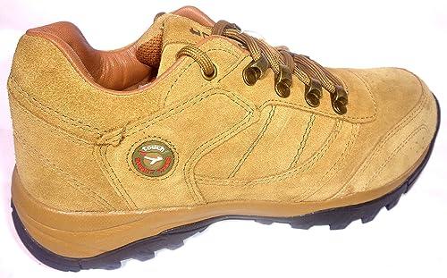 151 Camel Leather Boat Shoes-8 UK/India