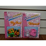 Barbie Size Kitchen Utensil & Vegetable Accessories Set (Set of Two)