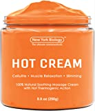 Cellulite Cream & Deep Muscle Relaxation Cream – Huge 8.8 oz - 100% Natural Ingredients – Anti Cellulite Treatment Skin Toning & Firming Cream – Muscle Cream, Muscle Relaxer, Hot Cream