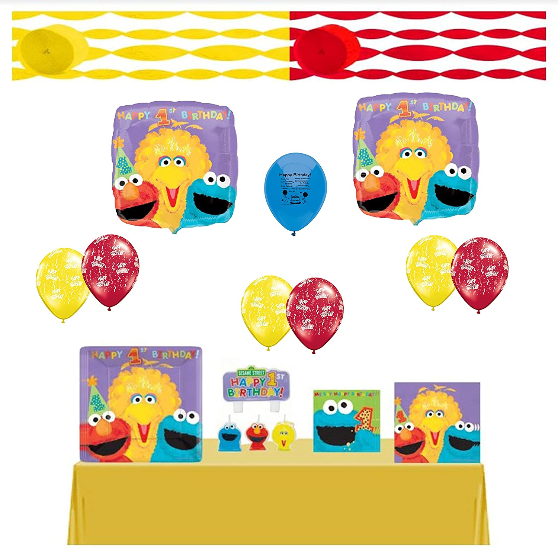 Sesame Street 1st Birthday Party | Birthday Wikii
