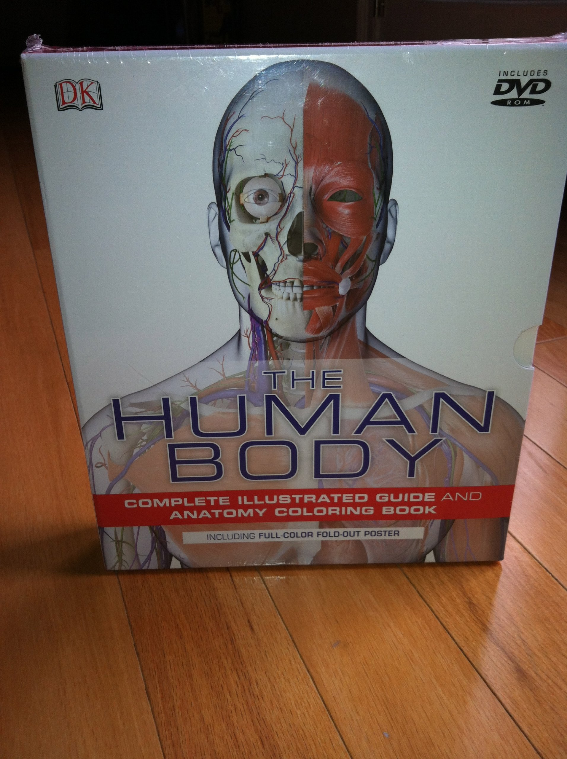 The Human Body Complete Illustrated Guide And Anatomy Coloring Book AND DK