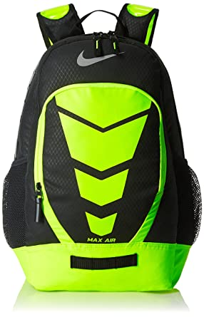 nike black and yellow backpack