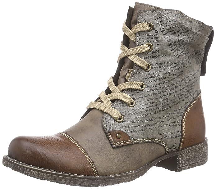 Rieker 70822 Damen Halbschaft Stiefel  Amazon.de  Schuhe   Handtaschen 23bcd5d475