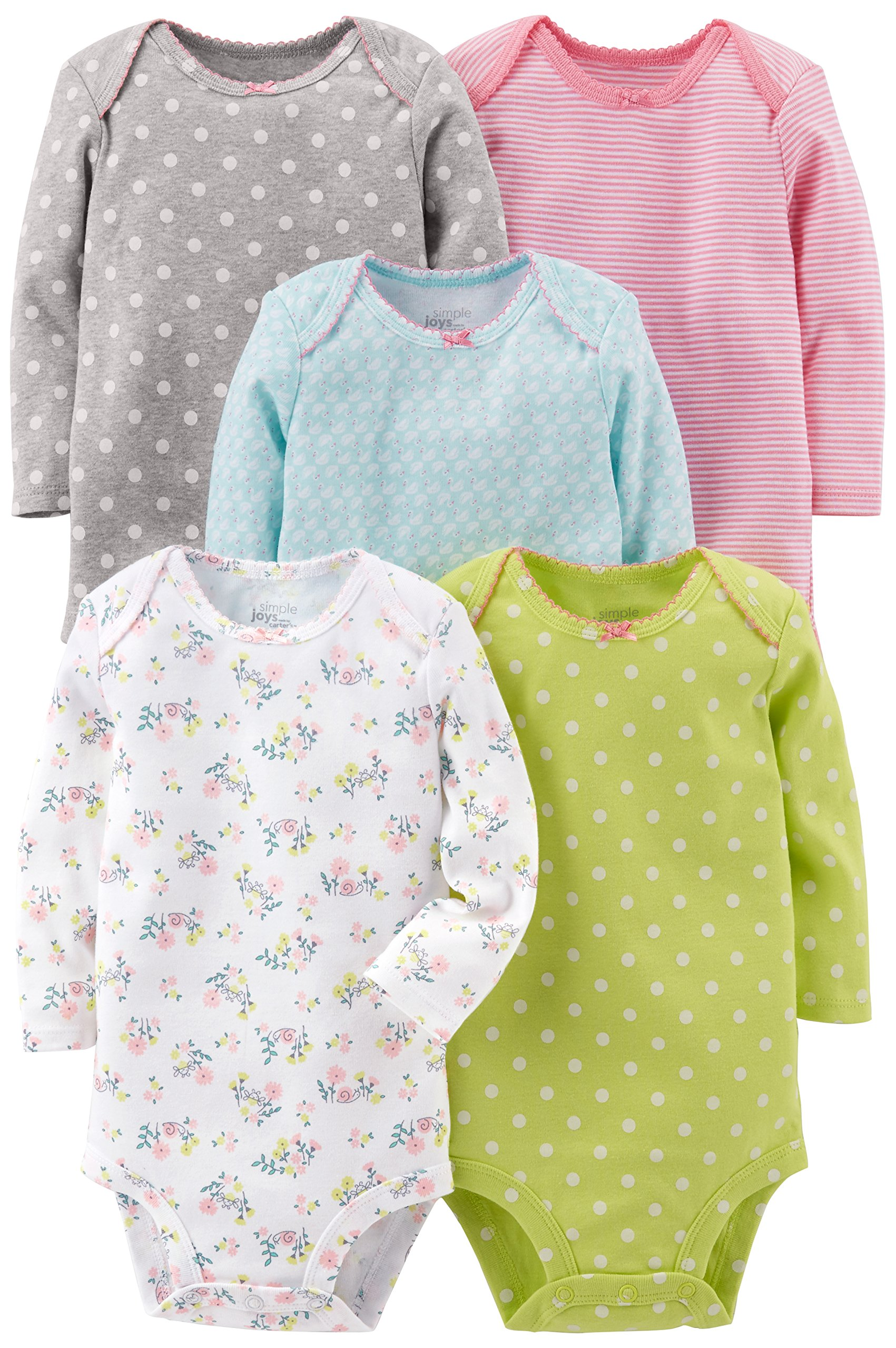 Simple Joys by Carter's Baby Girls 5-Pack
