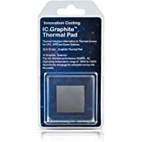 Innovation Cooling Graphite Thermal Pad – Alternative to Thermal Paste/Grease (30 X 30mm)