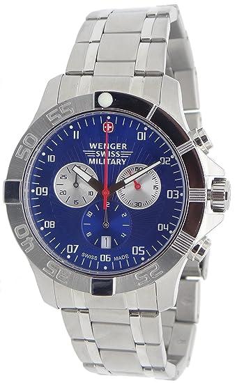 comprar popular 76851 603ce Wenger Swiss Army Regimiento Deporte cronógrafo Reloj 79218 ...