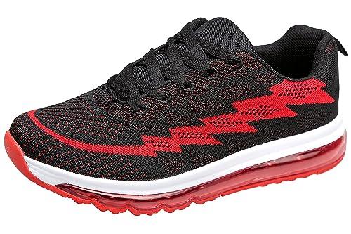 gibra - Zapatillas de Material Sintético para mujer, color Rojo, talla 39
