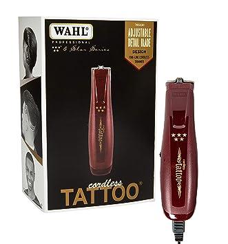 Amazon.com: Wahl Professional 5-Star Cordless Tattoo Trimmer #8491 ...