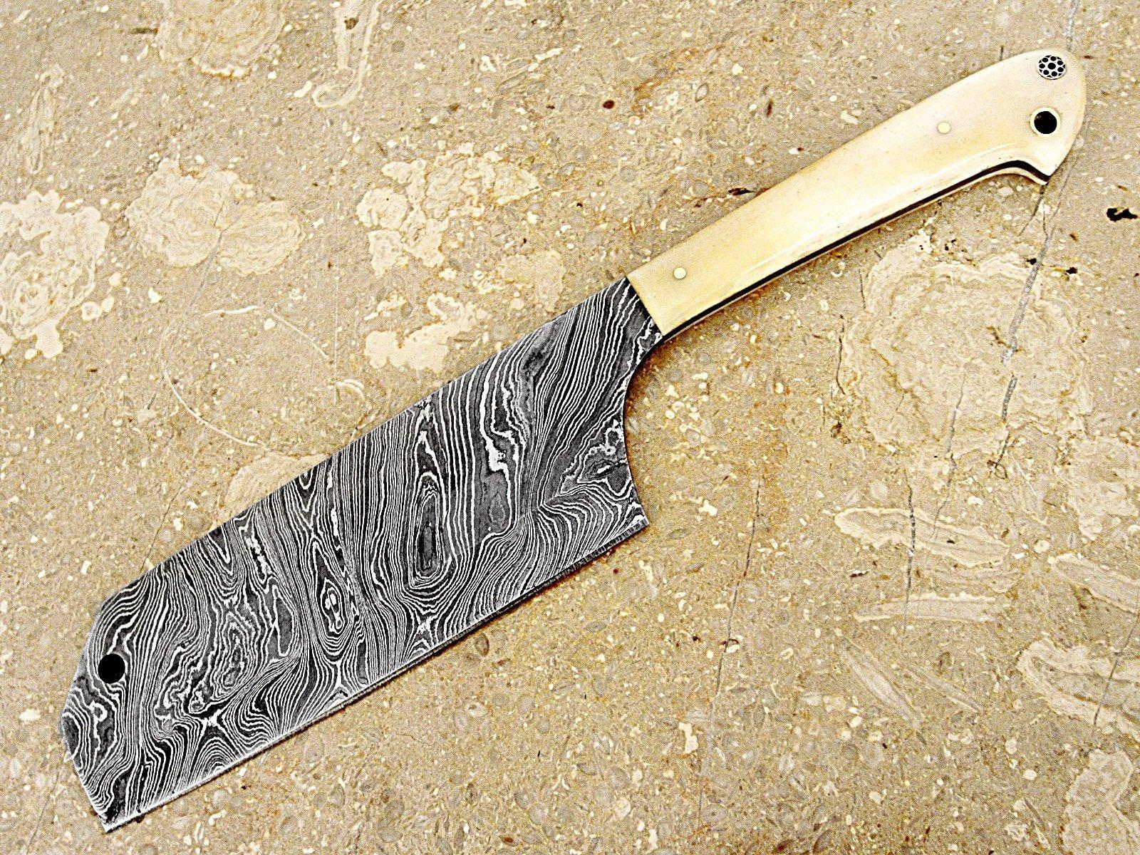 Christmas Gift Offer By ColdLand | Custom Handmade Damascus Steel Splendid Kitchen Set Knives Lot of 5 KSLOT2 by ColdLand Knives (Image #2)