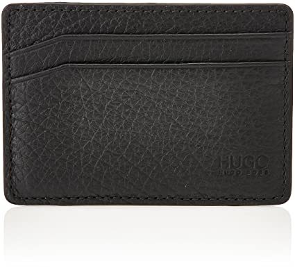hot sale online 937cb f5327 HUGO by Hugo Boss Men's Victorian Leather Money Clip Cardholder ...