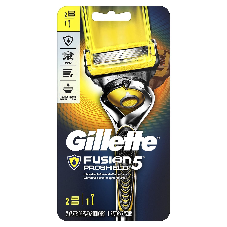 Gillette Fusion5 ProShield Men's Razor (1 Handle + 1 Blade Refill)