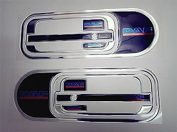 Set Von 2 Pcs Konvex Full Farbe Griff Tür Silikon Aufkleber Aufkleber Dekoration Für Truck Trucker Kabine Zubehör Auto