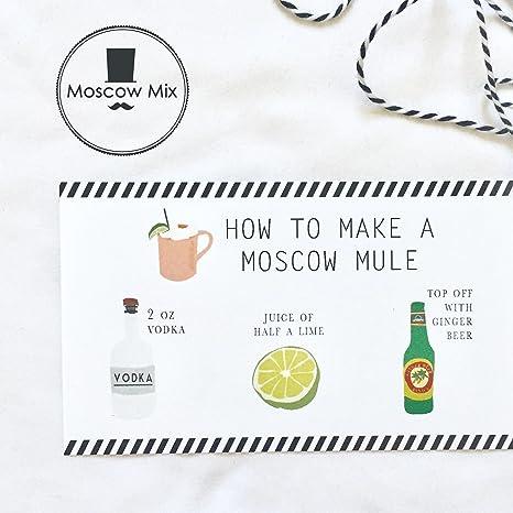 Moscow Mule tazas de cobre juego de 4 hecho a mano de cobre macizo - cobre tazas para Moscú Mule cóctel - 16 oz - vasos de chupito incluido: Amazon.es: ...