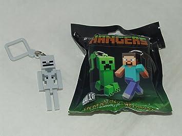 Amazon.com: Minecraft Hangers/llavero esqueleto piezas ...