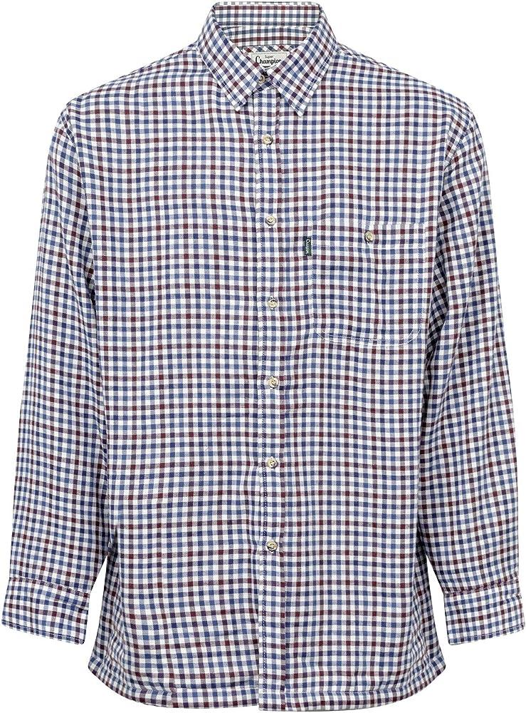 Fenside Country Clothing - Camisa casual - para hombre Azul azul M- 102 cm: Amazon.es: Ropa y accesorios