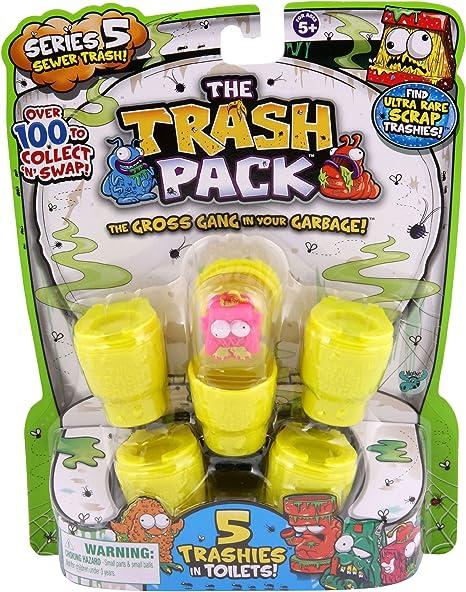 The Trash Pack Series 5 Sewer Trash Random Figure 5 Pack: Amazon.es: Juguetes y juegos