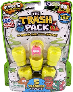 Amazoncom Trash Pack Series 4 5Pack Toys  Games