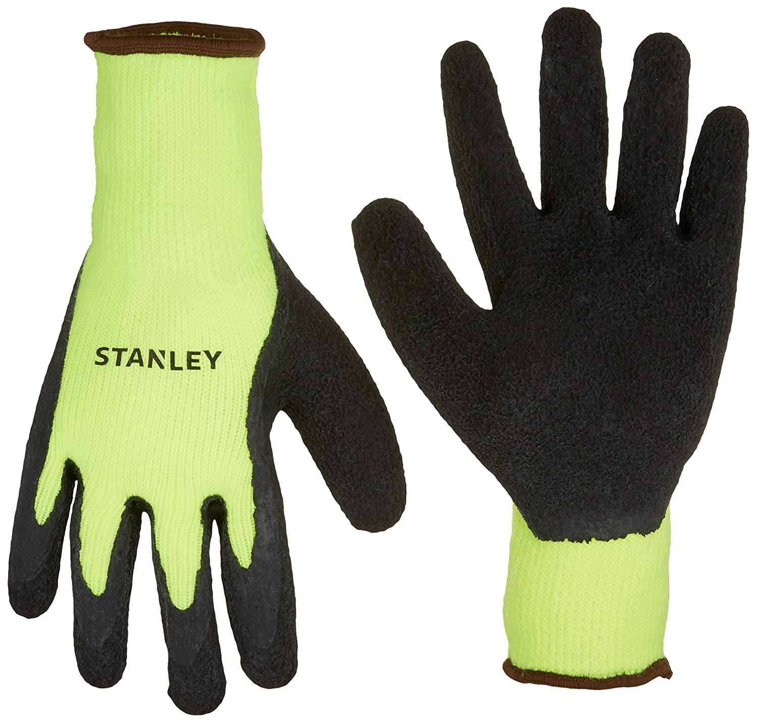 ALASKA THERMAL HI-VIS PVC COATED FREEZER//COLD STORE//WINTER GLOVES ONE SIZE
