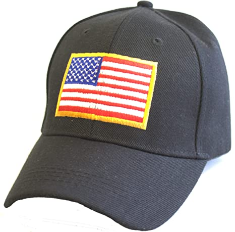 Image Unavailable. Image not available for. Color  KYS Design USA American  Flag Tactical Adjustable Hat 0f707ee59cb