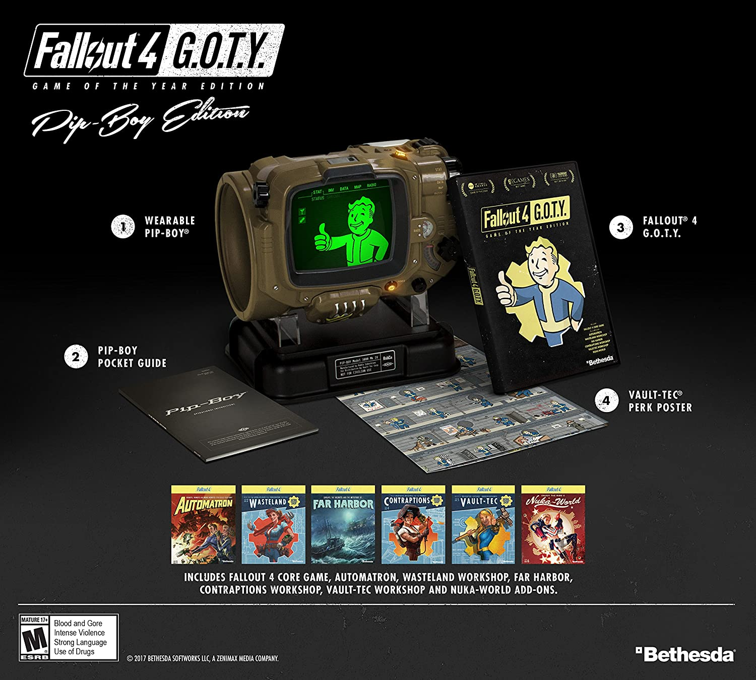 fallout 4 game of the year pip boy edition xbox one