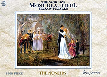 CROWN and Andews The Pioneers Series Country Wedding Jigsaw Puzzles