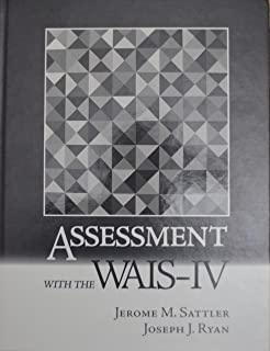 Amazon handbook of psychological assessment 9780470083581 assessment with the wais iv fandeluxe Images