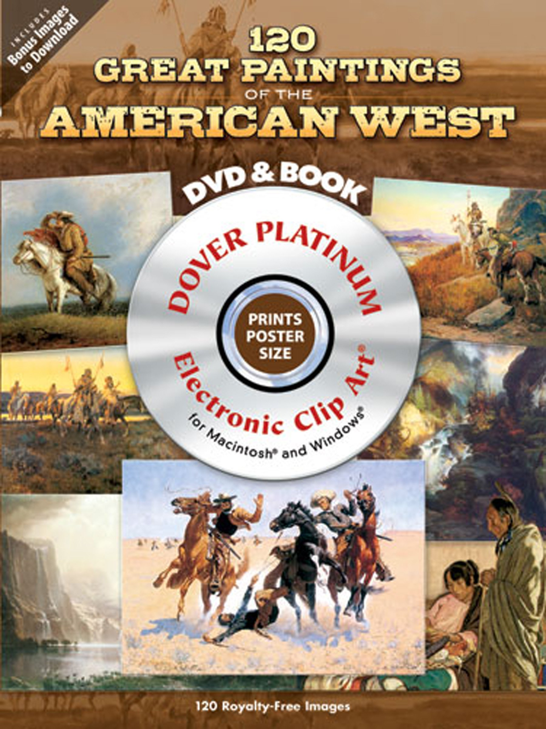 120 Great Paintings of the American West Platinum DVD and Book (Dover Electronic Clip Art) pdf epub