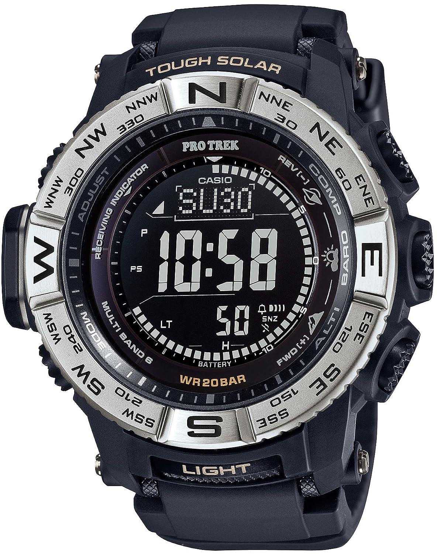 [カシオ]CASIO 腕時計 PROTREK トリプルセンサーVer.3搭載 世界6局対応電波ソーラー PRW-3510-1JF メンズ B01BXQ3XTO