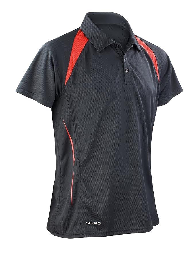 Spiro Polo T-Shirt pour Homme Team Spirit Moyen Royal/Navy AlcUT