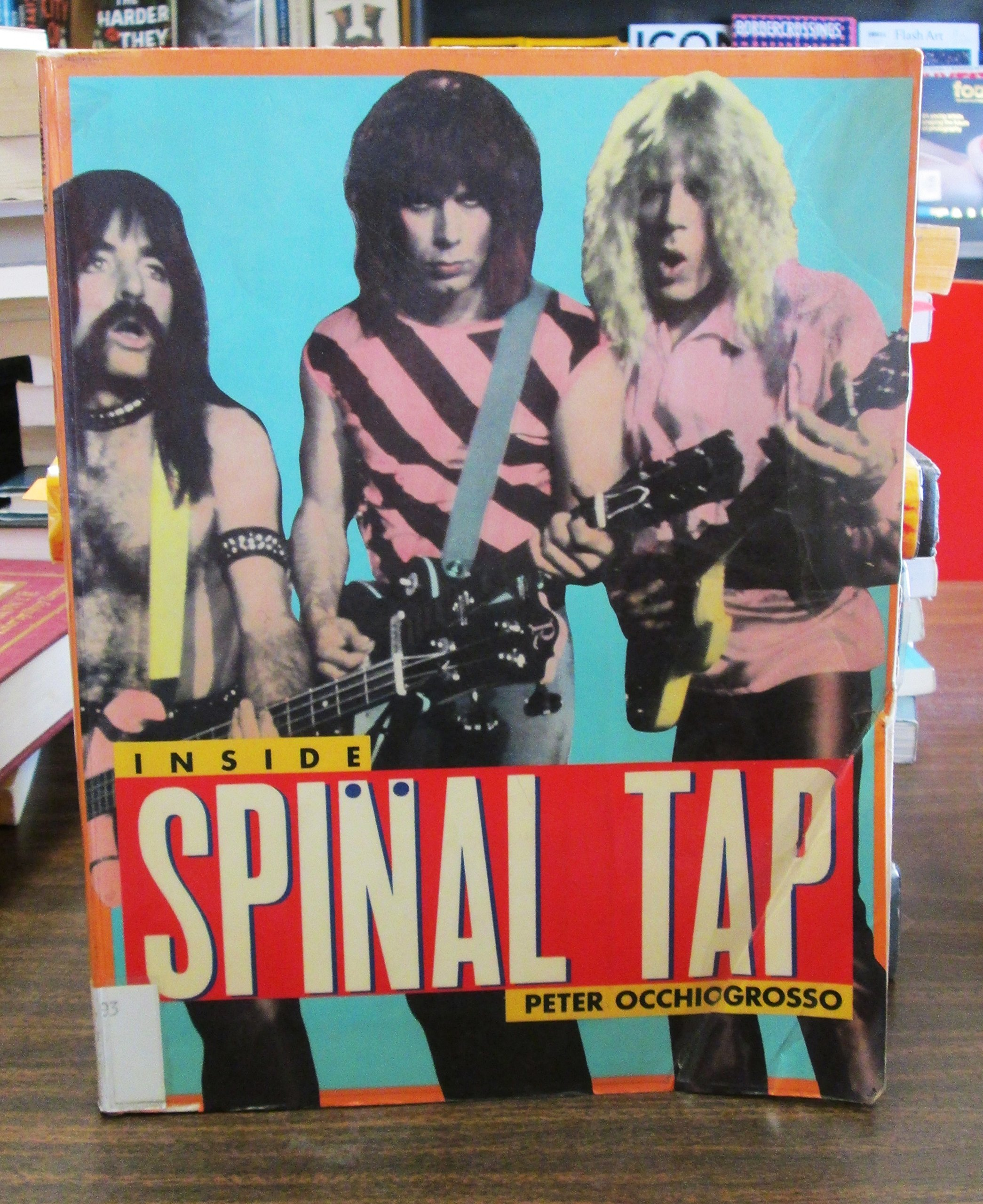 inside spinal tap timbre books