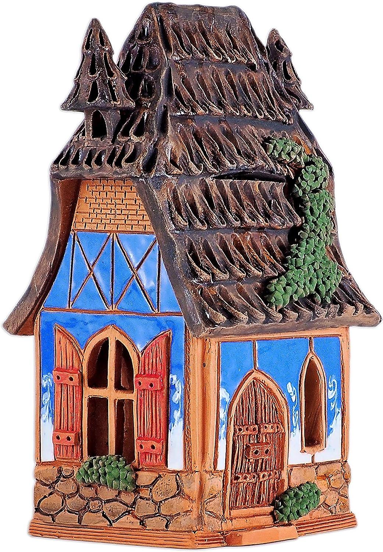 Ceramic House candle holder /'Midene Collection/' © Handmade