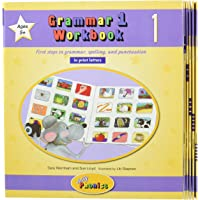 Grammar 1 Workbooks 1-6: In Print Letters (American English Edition)