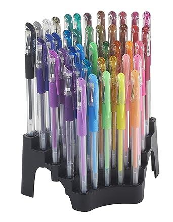 ECR4Kids GelWriter Premium Multicolor Gel Pens in Stadium Stand (44-Count)