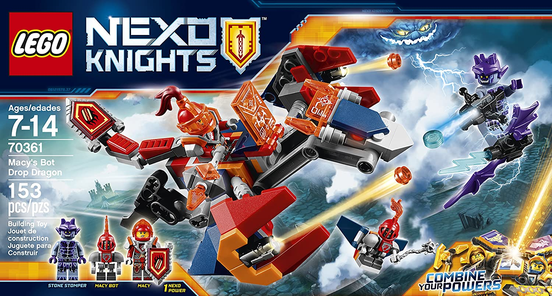 LEGO NEXO Knights Macy Bot Minifigure Set 70361 L13
