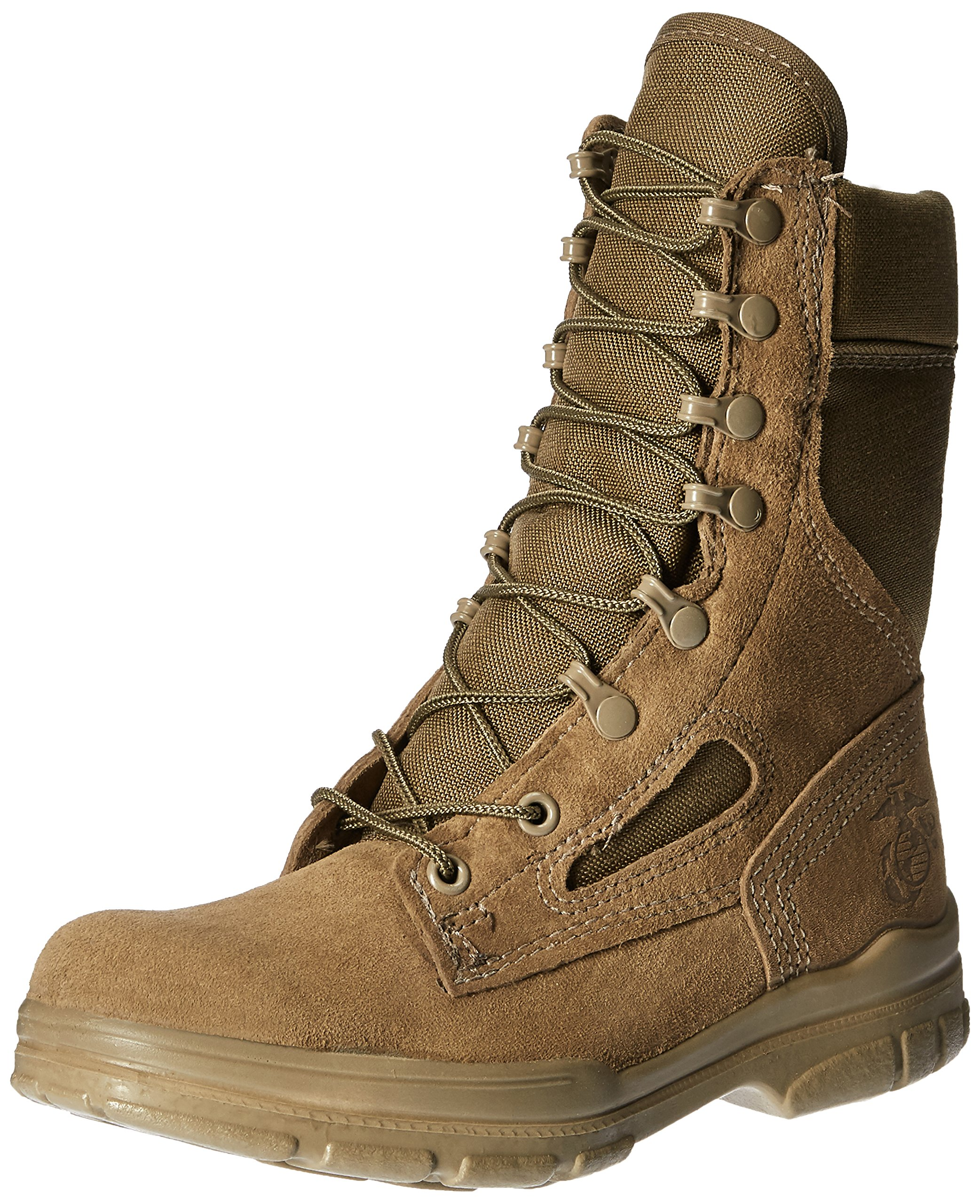 Bates Women's USMC Lightweight DuraShocks Military & Tactical Boot, Olive Mojave, 8.5 M US by Bates