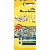 Ain, Haute-Savoie Michelin Local Map 328 (Michelin Local Maps)