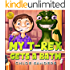 My T- Rex Gets a Bath: Dinosaur Chindrens Books, Baby Books, Kids Books, Ages 3 5, Picture Book, Story Book