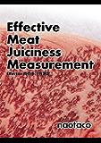 Effective肉の多汁性測定 (肉と鍋)