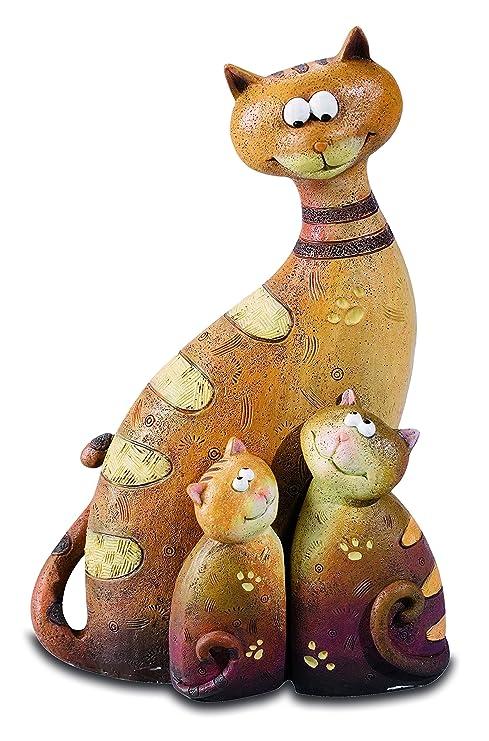 Katerina Prestige – Figura – Conjunto de 3 Gatos decoración C, na0503