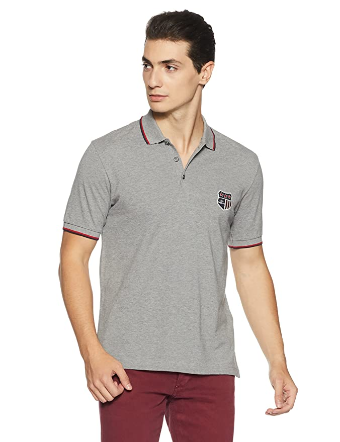 Jockey Men's Cotton T-Shirt Men's Polos at amazon