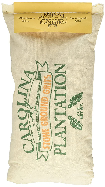 Carolina Plantation Stone Ground Yellow Grits - 2 Lb Bag