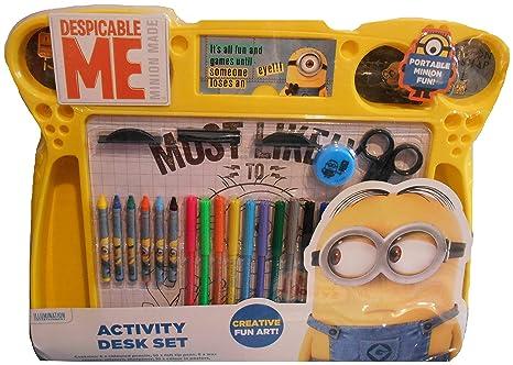 Amazon.com: Anker Despicable Me Activity Desk Set: Toys & Games