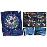 2018 Astrology Calendar Poster Bundle